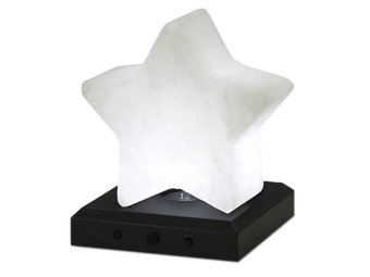 Salt crystal star