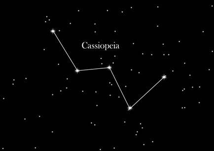 Star Sign Cassiopeia